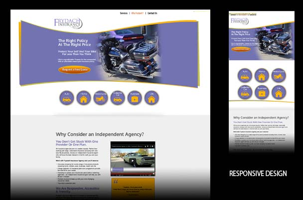 Frydach Insurance company website