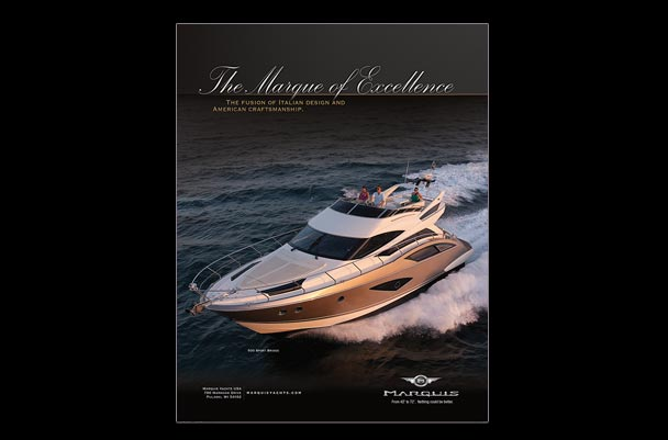 Marquis Yachts full page ad