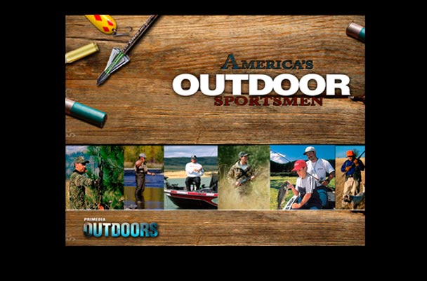Power point graphic design for outdoor magazine