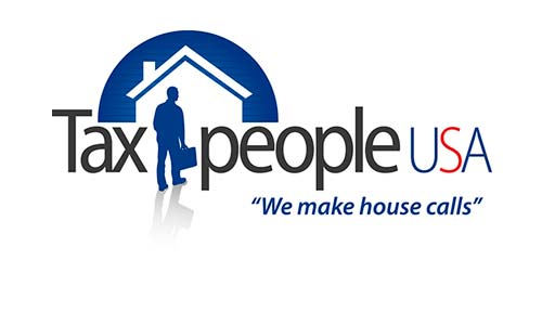 Logo design for onsite tax preparation services